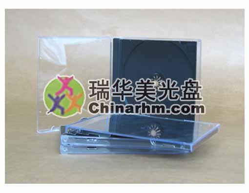 黑色標準CD盒