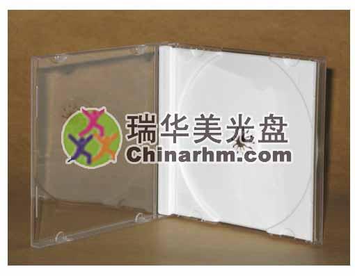 白色标准CD盒