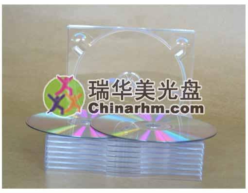 雙碟透明CD托