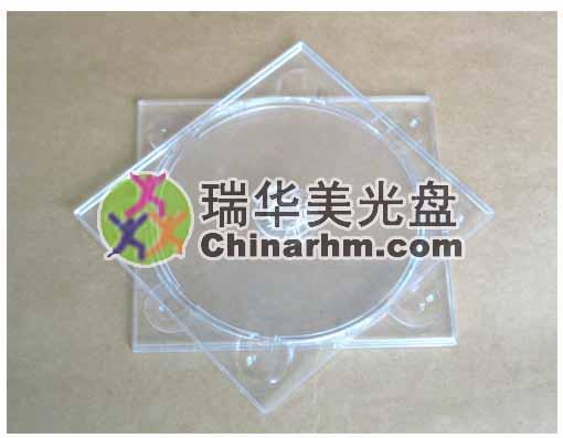 透明单碟CD托